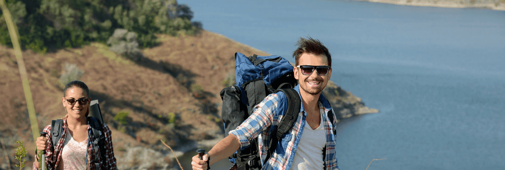 healthy lifestyle hiking