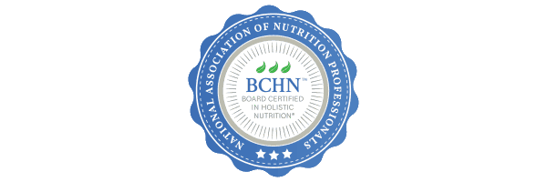 Board Certified in Holistic Nutrition - NANP